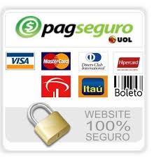 Pagamento 100% seguro. PagSeguro - Compre com segurança!
